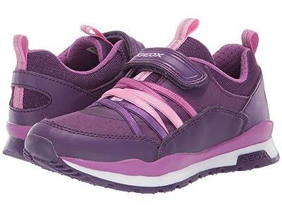 Geox Kids Jr Pavel 6 (Little Kid) (Medium Purple) Girls Shoes