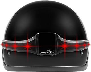 Whistler Group MotoGlo Full Helmet Safety Light for Real-Time Signals at Helmet Height