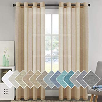Amazon Com Nate Berkus Diagonal Burnout Sheer Curtain Panel True White 54 X84 Kitchen Dining