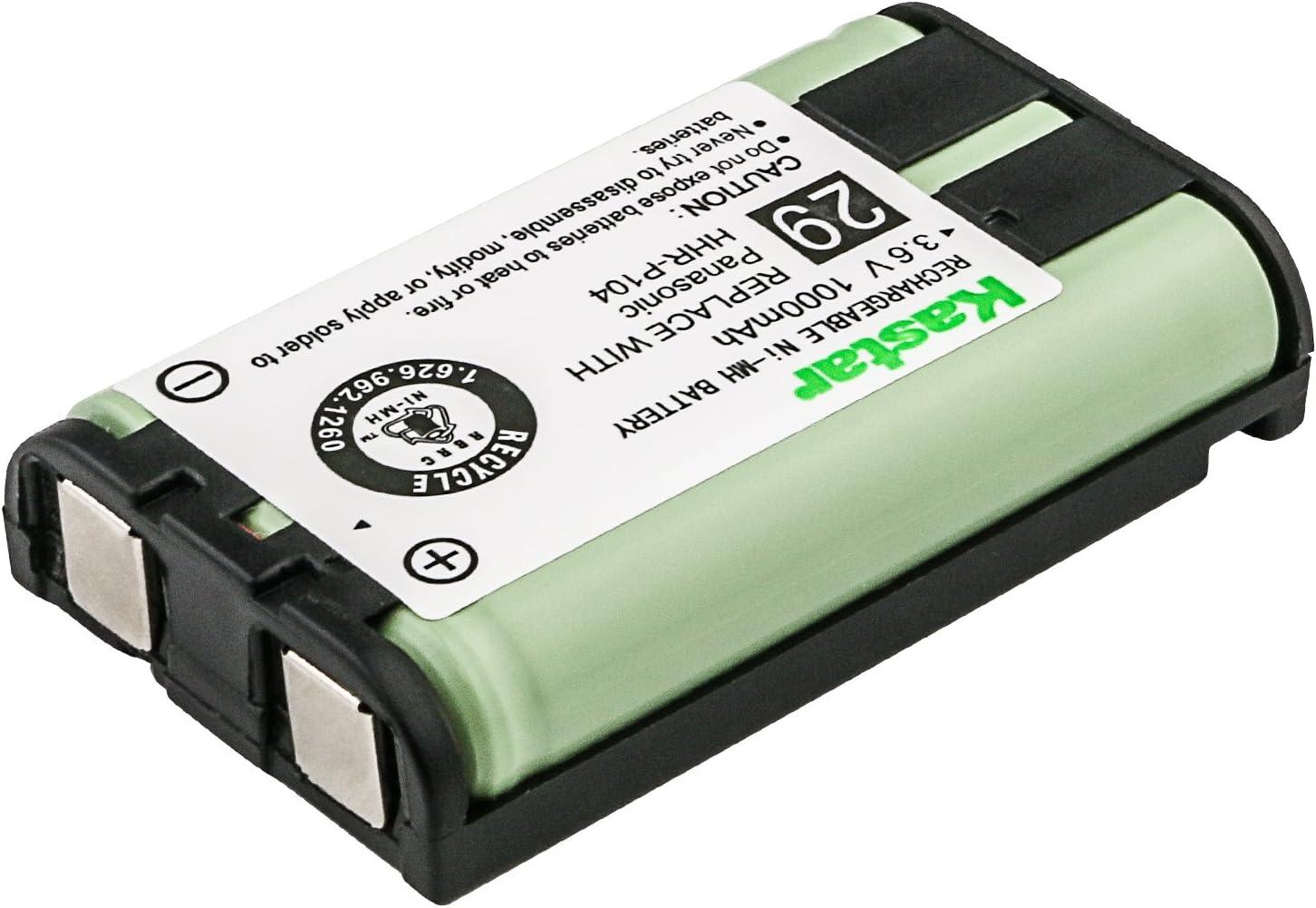 Max 84% OFF Panasonic KX-TG5432 Elegant Cordless Phone Replacement Battery F