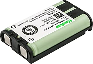 Kastar Battery Replacement for Panasonic HHR-P104 P104A P-P104 TYPE 29 GE-TL26411 CPH-496 RADIO SHACK 23968 439024 439025 439026 439030 439031 PHILIPS SJB4162 SJB4162/17 SJB4162/37 and More