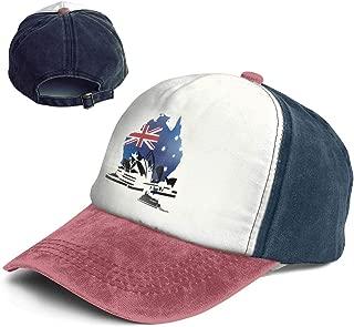 QZDLq Fashion Vintage Hat The Sydney Opera House Australia Adjustable Dad Hat Baseball Cowboy Cap