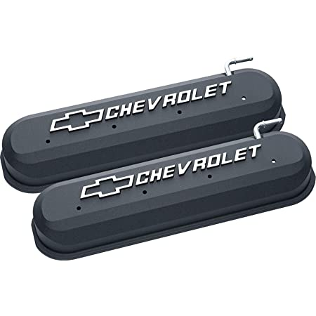 Holley 241-409 Gloss Red Tall Valve Cover w// LSX Logo for LS1//LS2//LS3//LS6//LS7 Valve Cover Holley 241-409