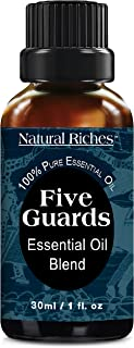 Sponsored Ad - Natural Riches Five Guards Immunity Synergy Blend Health Shield Aromatherapy Essential Oils - Clove Cinnamo...