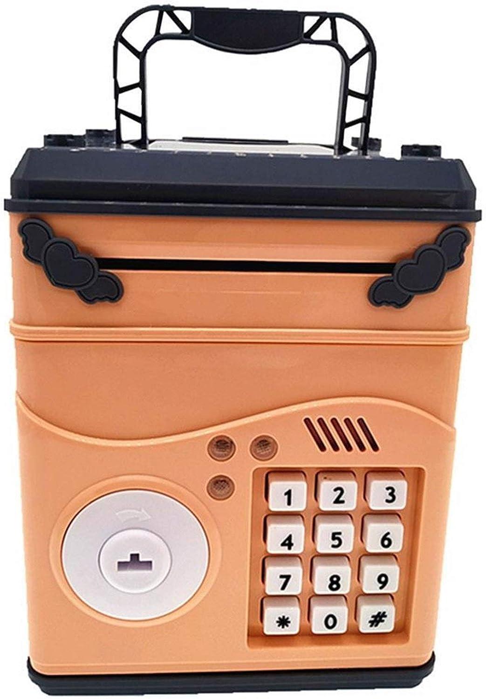 Niños Bancos Dinero - contraseña Mini caja de dinero electrónico hucha ATM Caja de mascar efectivo moneda fuerte Máquina regalo for los niños los niños a desarrollar buenos hábitos de gestión financie