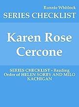 Best karen rose cercone Reviews