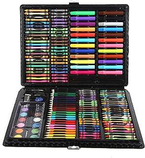 L&Z Estuche de Pintura para niños, 168 Piezas Lápices de Colores, Juego de Pintura