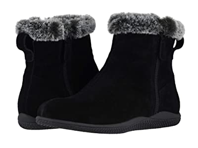 SoftWalk Helena (Black Suede) Women
