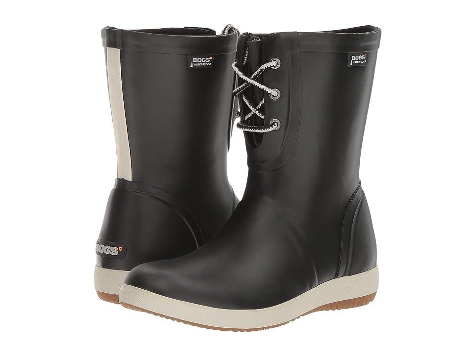 Bogs Quinn Lace Boot (Black) Women