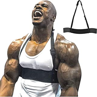 Z-Fintess Arm Blaster for Triceps & Biceps Barbells & Dumbbells Curls Muscle Builder Bicep Isolator for Big Arms Bodybuild...