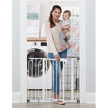 Regalo Easy Step 38.5-Inch Extra Wide Walk Thru Baby Gate