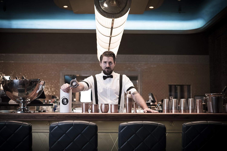 """Flaschenk/ühler /""""Concrete/"""" 1,5 L Flaschen Buddy/´s Bar schwarz hochwertiger Sektk/ühler aus Beton Weink/ühler geeignet f/ür 0,7 L 12 x 19 cm Innendurchmesser 10cm m/öbelschonende Unterseite"""