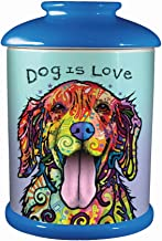 Spoontiques 21006 Dean Russo Dog Cookie Jar, One Size, Multicolored