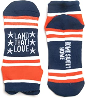 Inspirational Athletic Running Socks   Women's Woven Low Cut   Inspirational Slogans   Over 25 Styles