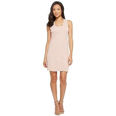 Lanston Raw Edge Mini Dress (Blush) Women