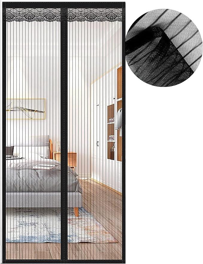 57 opinioni per Zanzariera Magnetica per Porte, Zanzariera 75x200 cm, Nero Zanzariere Porte