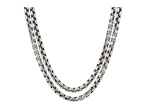 John Hardy Classic Chain Box Chain Necklace with Figurative Naga Lobster 2.6 mm.