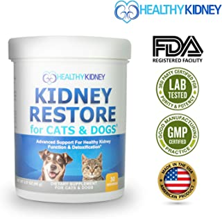 Cat and Dog Kidney Support, Natural Renal Supplements to Support Pets, Feline, Canine