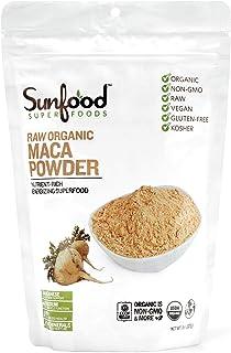 SunFood Organic Maca Powder -- 8 oz by SunFood