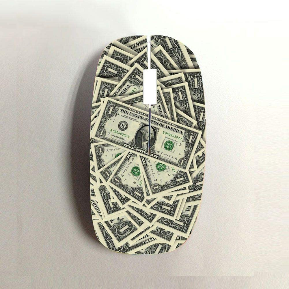 Babu Building Use for Wireless Mouse Print Cash for Guy Hard Pc Shatterproof