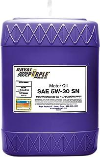Royal Purple API-Licenciado SAE 5W-30 Óleo de motor sintético de alto desempenho - jarro de 1 galão