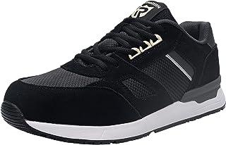 LARNMERN Chaussures de Sécurité Homme Femme Legere, SRC Antidérapante Baskets de Securite Embout Acier Protection Antistat...