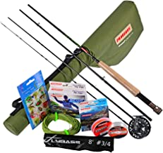 REAWOW EIS Angelrute und Angelspule Kombination Tragbare Ultraleichtes Epoxidmaterial Angelrute 2+1BB Bearing Bass Fishing Wheel F/ür Winter River Fishing 60//70 // 80CM Angelrute + 5//6 Angelrad