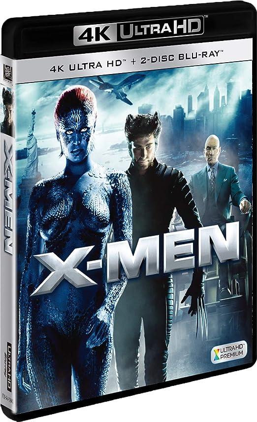 つかいます後悔難民X-MEN (3枚組)[4K ULTRA HD + Blu-ray]