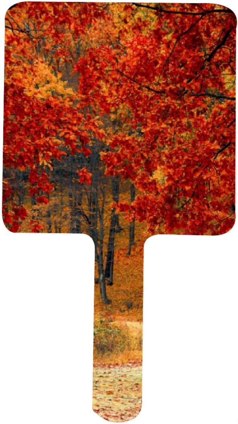Fixed price for sale Seasonal Colors of Autumn Handheld Mirror Mirrors Decorative Cheap mail order specialty store