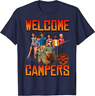 Jurassic World: Camp Cretaceous Welcome Campers Group T-Shirt