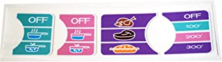 The Toy Restore Replacement Decals Stickers Fits Little Tikes Family Kitchen Dial only Partial Set