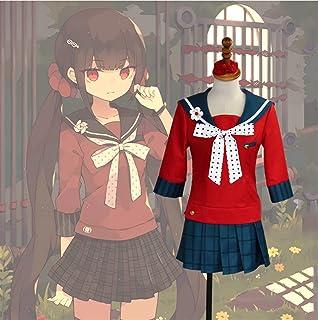 DONGYAO Disfraz de cosplay Danganronpa V3 Killing Harmony Harukawa Maki Uniforme Escolar Cosplay Accesorios (Color: Natura...