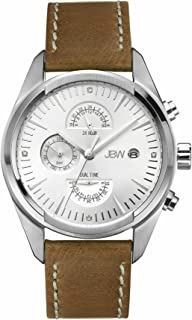 JBW Luxury Men's Woodall 4 Diamonds Multi-Function Watch