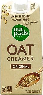 NUTPODS Original Unsweetened Dairy Free Oat Creamer, 11.2 FZ