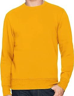 New Men's Women Unisex Sweatshirts Round Neck Regular Pullover Cotton Jumpers
