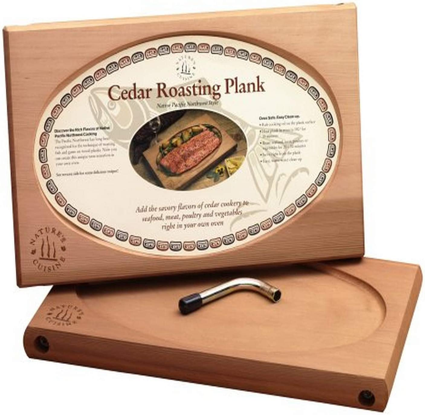 Nature's Cuisine NC001 Large Cedar with outlet Plank Oven Wren Ranking TOP13 Roasting
