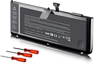 A1286 A1382 Laptop Battery for MacBook Pro 15 inchEarly 2011 Late 2011 Mid 2012[10.95V 77.5Wh]
