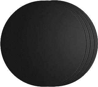SPGOOD Lot de 4 tapis de cuisson ronds pour barbecue - Diamètre 40 cm - Tapis en téflon, 100 % antiadhésif et sans PFOA - ...