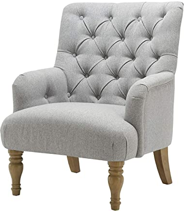 Amazon.co.uk: Grey - Armchairs / Chairs: Home & Kitchen