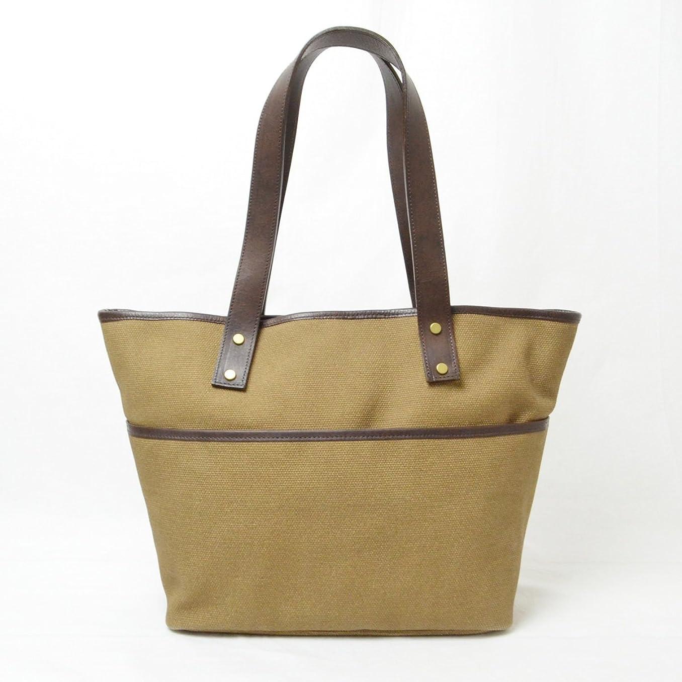 大学院誰バタフライエスペラント esperanto バッグ「TOTE BAG Small ハンプXリバース トートバッグ (S)」ESP-6331 ブラウン