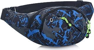 Bum Waist Bag 3-Zipper Fanny Pack Bum Bag Adjustable Strap Running Fitness Cycling Hiking Travel Camping Sports