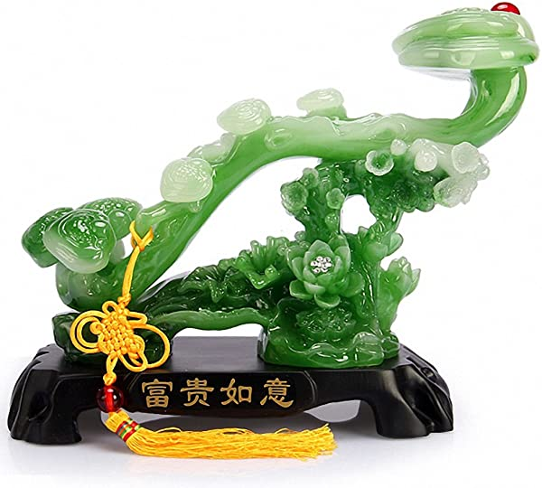 Wenmily Feng Shui Ruyi Statue Chinese Charm Of Prosperity Home Decoration Feng Shui Decor