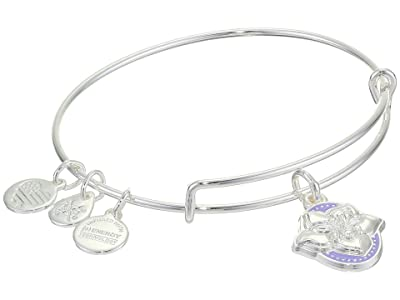 Alex and Ani Color Infusion Bangle Bracelet (Silver/Wildflower) Bracelet