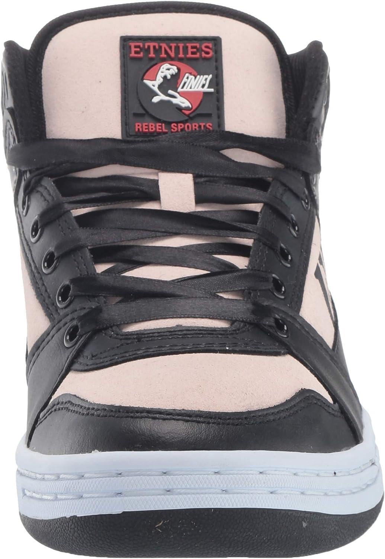 Etnies Women's Mc Rap High W's Skateboarding Shoes Black 963 Black Pink 963