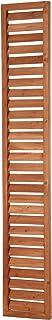 アイリスオーヤマ ラティス ルーバー ML-318 ブラウン 幅30cm×高さ180cm