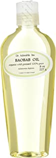 8 Oz Baobab Oil 100% Pure Organic Cold Pressed for Skin Hair Nails Massage