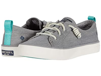 Sperry Crest Vibe Washed Twill (Grey) Women