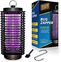 Bug Zapper Indoor and Outdoor - Insects Killer - Fly Trap Outdoor Patio - Insect Killer Zapper - Mosquito Trap - Insect Zapper - Mosquito Attractant Trap - Fly Zapper - Bug Zapper Table Top (L)
