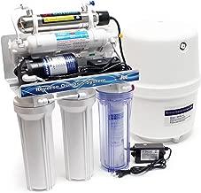 Naturewater NW-RO50-C01-1 Equipo osmosis inversa RO 5 Etapas 180l//d/ía Man/ómetro Tratamiento agua