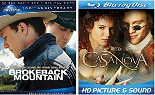 Brokeback Mountain / Casanova (Heath Ledger Blu Ray Set)